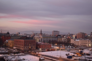 Oslo_sunset_Norway