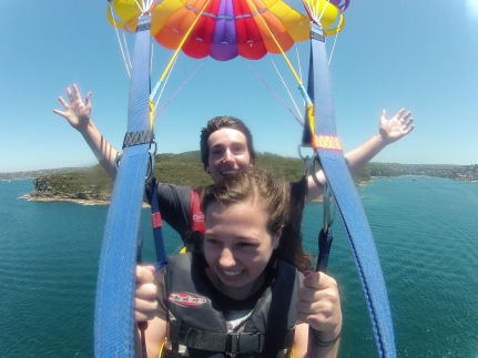 Parasailing_SydneyHarbour