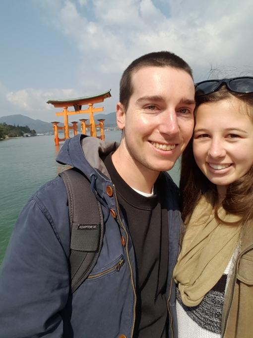 Itsukushima torii gate