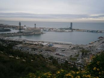 Barcelona-harbour