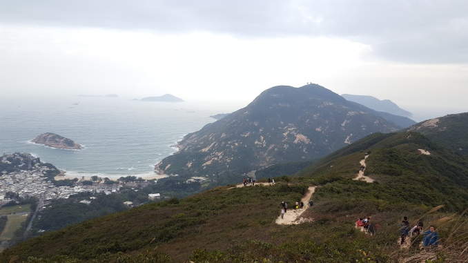 Hiking Dragons Back