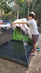 Camping at Wooyung