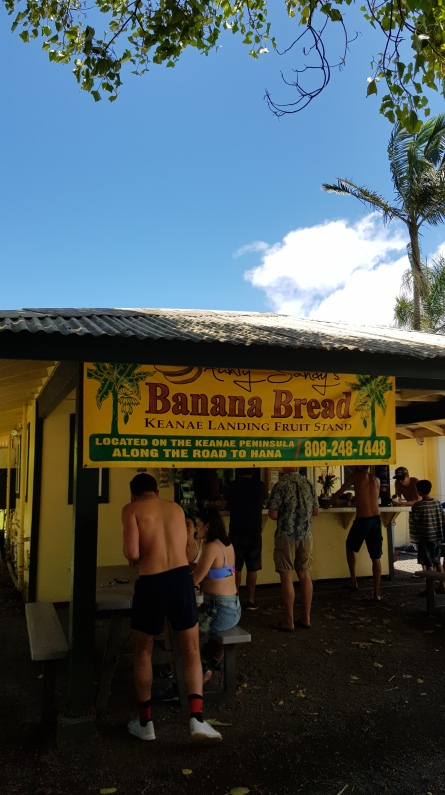 The best banana bread in Maui