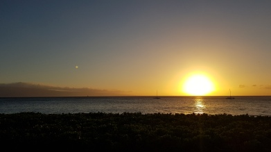 Sunset at Lahaina